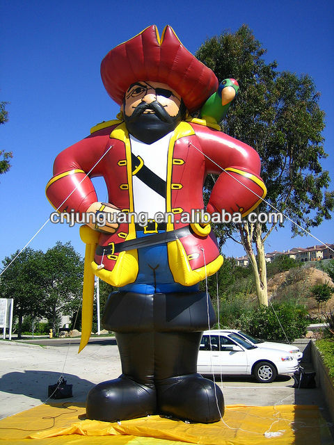 2017 new inflatable Pirate Captain for advertising