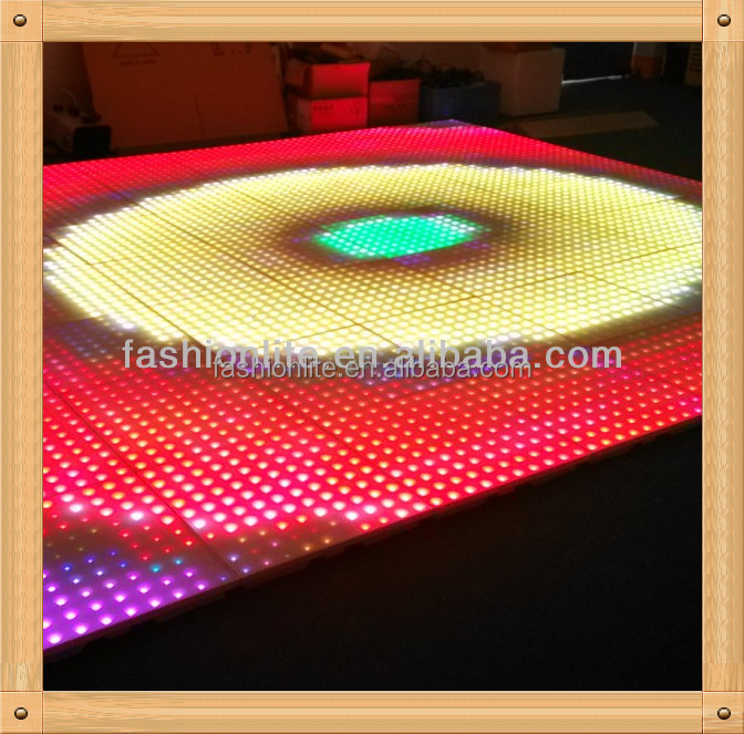 led dance floor for wedding events/party floor