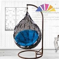patio garden pe rattan hanging chair for outdoor