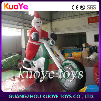 Inflatable santa claus with motor new christmas santa for Motor for inflatable decoration