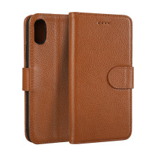 For iPhone X Case Real Leather Mobile Phone Case, Luxury Cover For iPhone X Back Case Leather