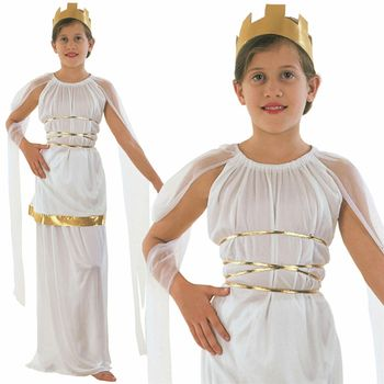 Girls Greek Goddess Costume Roman Toga Outfit Book Week Kids Child Fancy Dress Ca2674 View Costume Cora Product Details From Yiwu Cora Trade Co Ltd On Alibaba Com