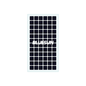 Bluesun best price transparent glass solar panel for home roof