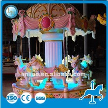 New Outdoor Mechanical merry go round small carousel horse ride for sale