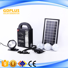 Protable Outdoor Camping Light Solar Lighting System Kits