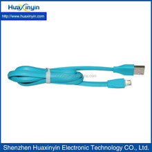 Soft sense of touch and high quality material micro usb cable for cell phone