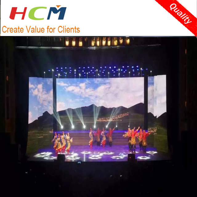 LED dj Booth P4 Indoor LED video function screen panel