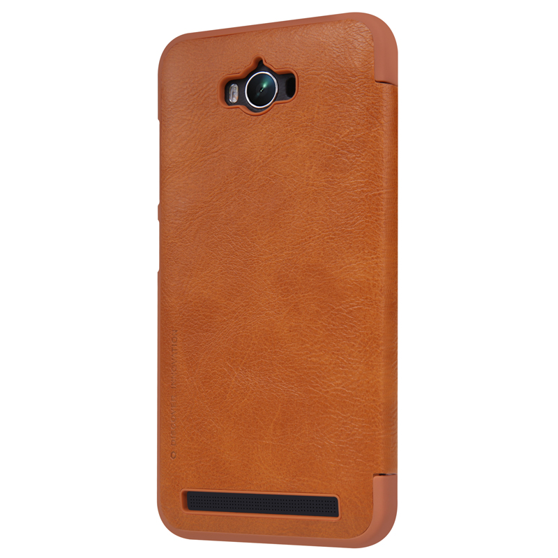 Nillkin High Quality Classic flip Leather Cover Case Qin Series phone bag for Asus Zenfone MAX/ZC550KL