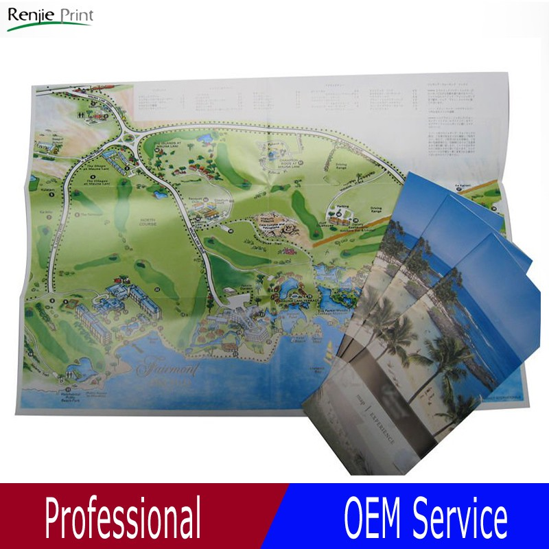 A4 Paper Factory In China Map Leaflet Printing - Buy Map Leaflet,Custom  Leaflet,Travel Leaflet Printing Product on Alibaba com