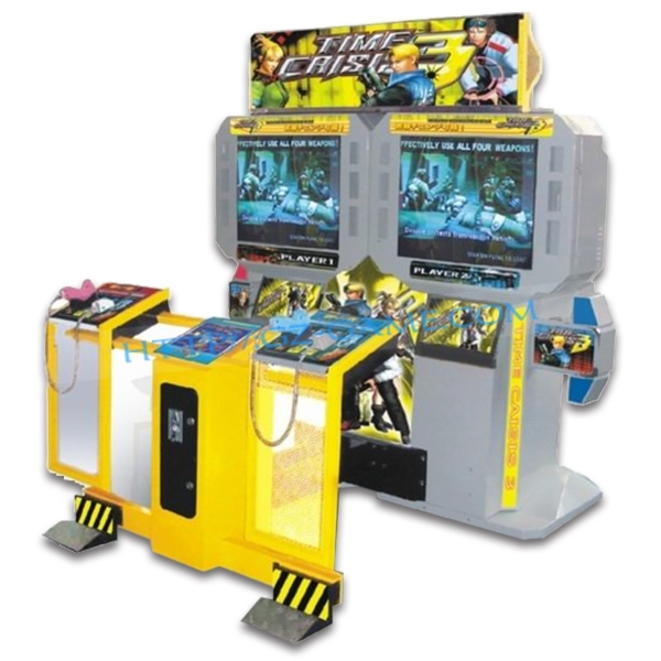 47'lcd Coin Operated Time Crisis 3 Arcade Machine For Sale ...