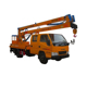 New light duty street light maintenance 20m high platform telescopic operation aerial overhead working truck