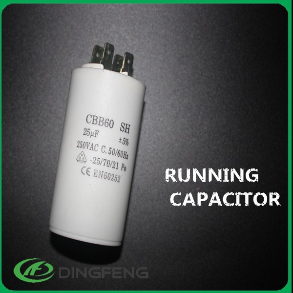 4pins 250v 450v water pump motor ac capacitor