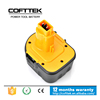 Cofttek replacement dewalt ni-mh 12v 3.0ah tool battery PK genuine dewalt battery