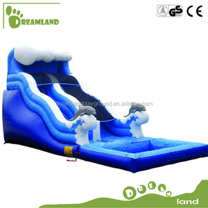 widely used professional inflatable bouncer slide