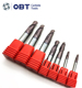 OBT-Solid Carbide 2/4 Flute cone ball nose endmill