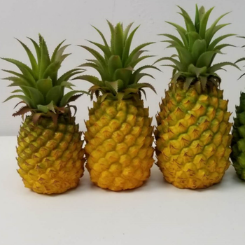 Realistic Artificial Pineapple Artificial Fruits Faux Pineapple