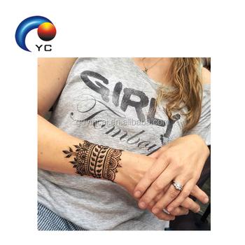 Bride Tribe Henna Tattoo Sticker Easy To Peel Off Tattoo Sticker Non