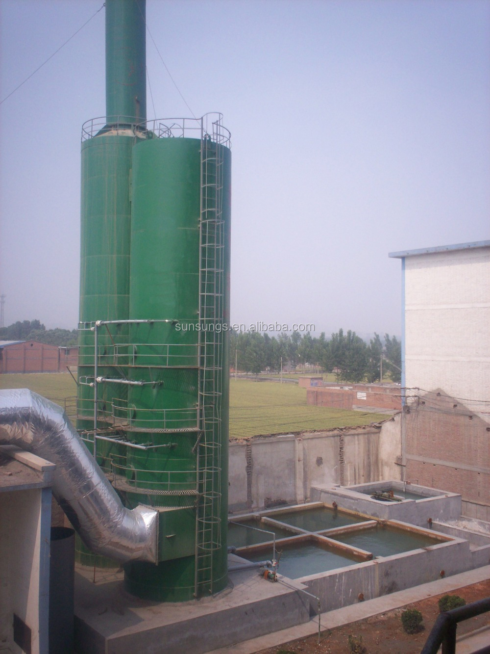 Industrial Spray Tower,Activated Carbon Gas Adsorption Tower ...