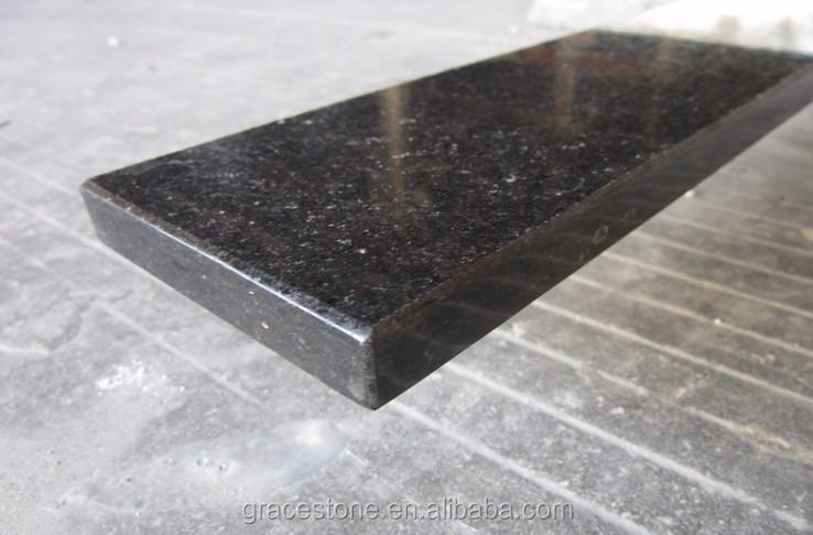 Marbre De Granit Galaxie Noire Comptoirs De Cuisine - Buy Galaxie ...