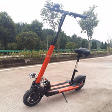 10 inch 350w 500w 800w 48v 21ah 80km/ 100km lithium battery no petrol and electric scooter/long range foldable escooter