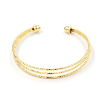 bracelet plated fashion cable silver men women gold wire twisted cuff stainless thick bangles steel rose item