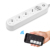 4AC+3 USB Power Strip Electronic Home Office Surge Protector EU Plug hargers Extension WiFi Smart Socket