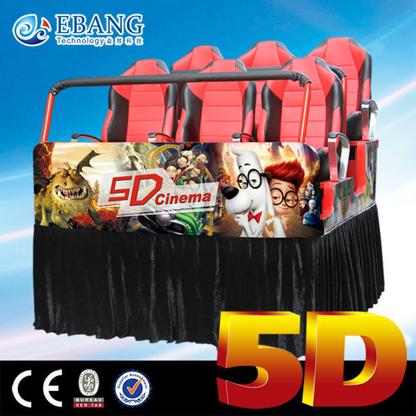 entertainment and interaction 7d cinema shooting game machine
