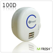 M Fresh Remove smoke Home Use Plug in air ionizer, negative ion air cleaner,anion generator