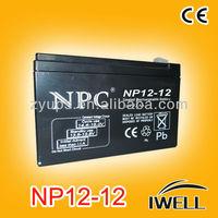 12 volt Sealed Maintenance Free Lead Acid Battery 12v 11ah Battery