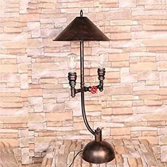 foldable desk lamp&Retro table lamp&Work lamp table lamp&LED desk lamp&Wood table lamps&Lamp shades for table lamps&Tripod table lamp Retro tube lamps (360320860mm)