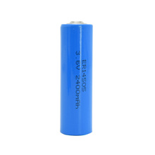 ER14505 3.6V 2400mah <span class=keywords><strong>AA</strong></span> lisocl2 batteria