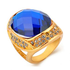 Jewelry Fashion Designs Mens Gold Neelam Stone Ring
