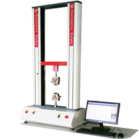 Low price electronic power tensile tester & universal testing machine and compression measuring apparatus