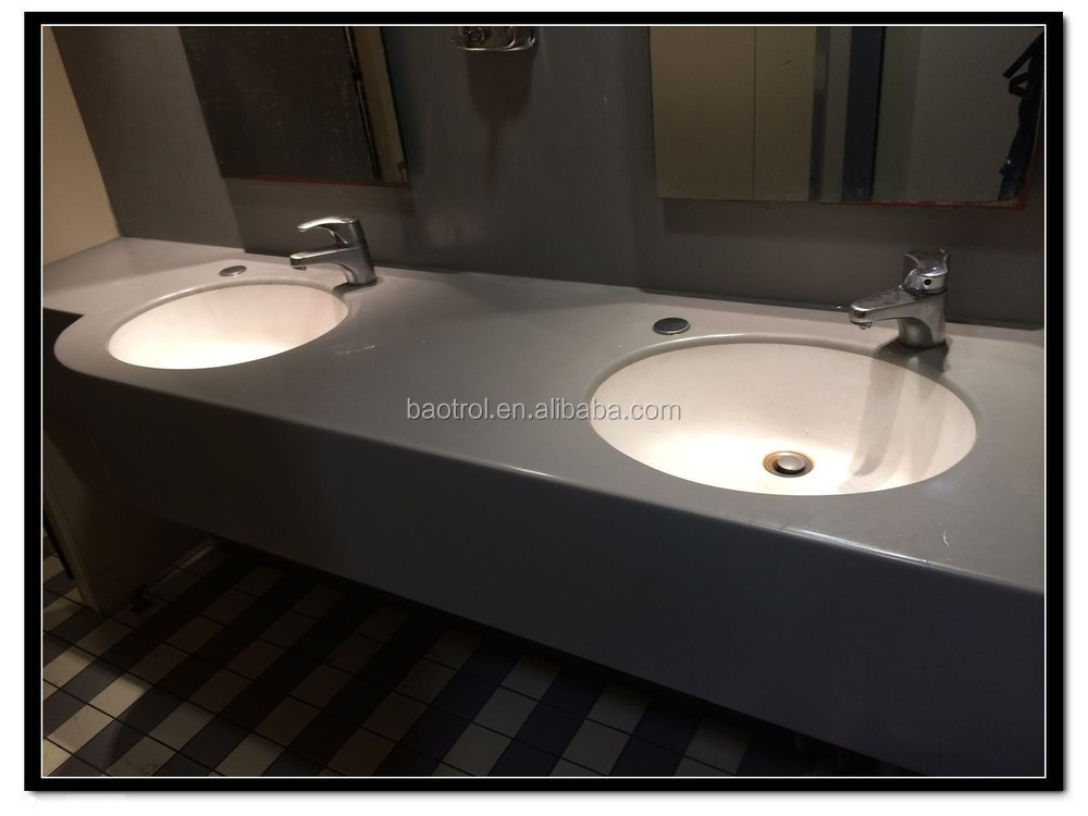 Bathroom Vanity Top Sink,Acrylic Solid Surface Bathroom Vanity ...