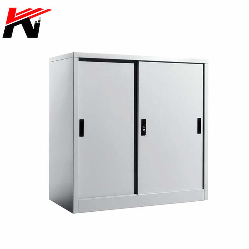 Half height aisle metal sliding door steel filing storage <strong>cabinets</strong>