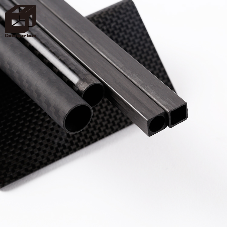 Versterkte Matte 3 k 19mm Carbon Fiber Fittings Tube