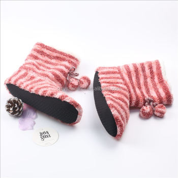 Superior cozy ankle indoor winter sock boots for women
