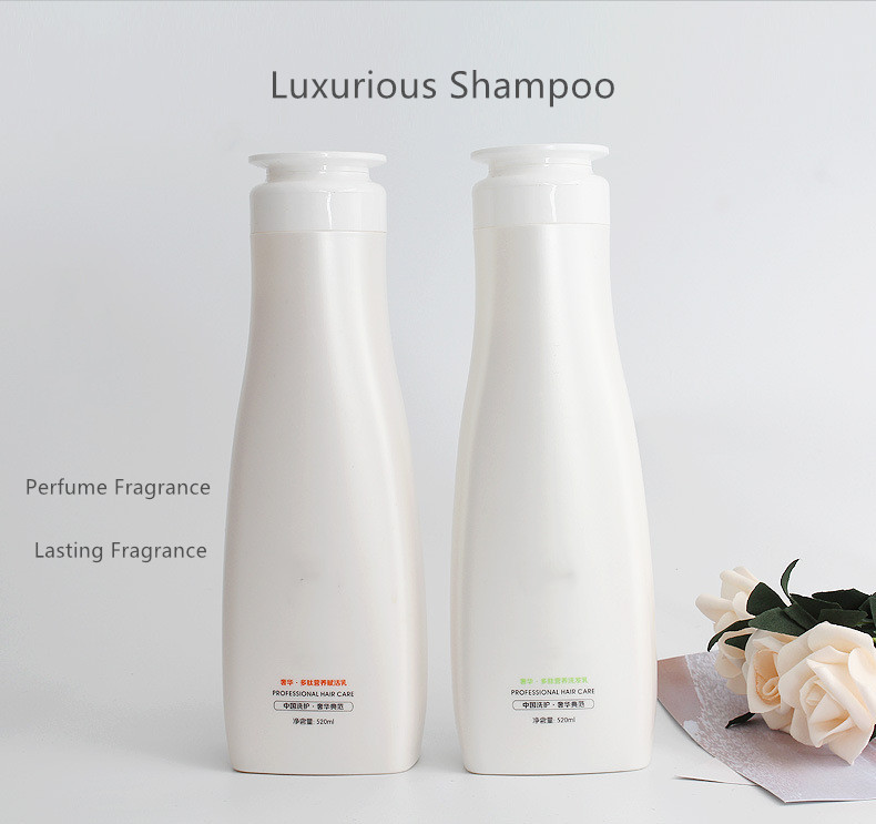 Organic Silicon-free Repair dry manic perfume fluffy smooth lasting fragrance repair hair dye hair shampoo Polypeptide