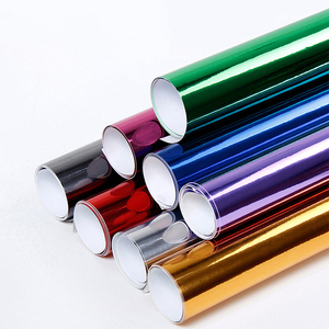 Carlas 1.52*30m Color Change Foil For Auto Wraps Chrome Gold Car Wrap Vinyl