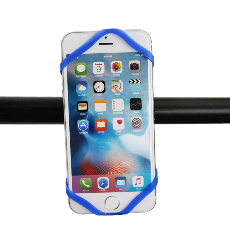 360 Degree Rotating  universal silicon waterproof mobile phone holder for bike