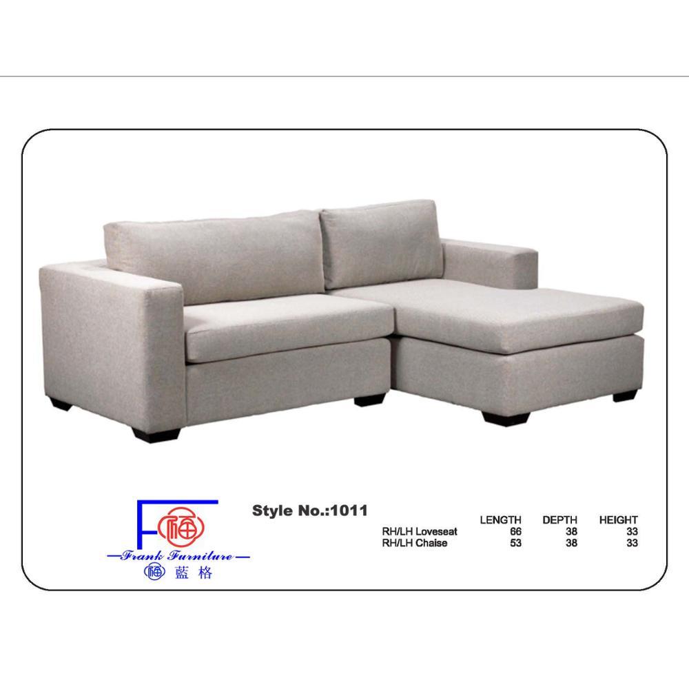 - Hot Selling Round Corner Sofa Fabric Chaise Lounge Sofa - Buy