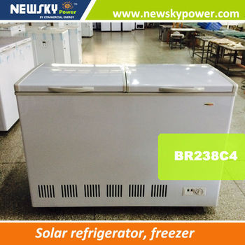Home Appliance Solar Powered Ac110v-240v Dc Freezer Solar Freezer ...