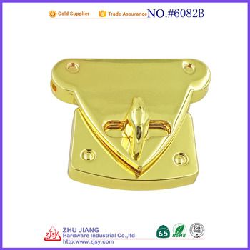 hearted shape bag lock key lock , locks for leather bag