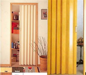Bounsun pvc Plastic Accordion Folding Doors