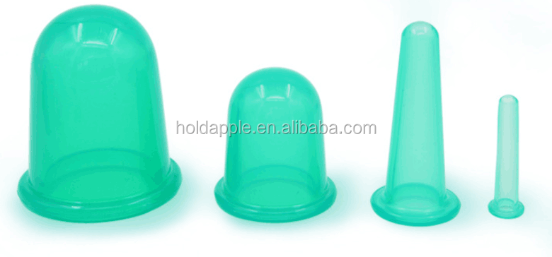 Medical Silicone Cups For Body Cupping Acupuncture Massage Therapy ...