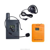 ZLWUS800R Portable Wireless Tour System Audio Guide for Museum,tour teams