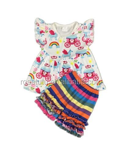 服中国の工場バルク卸売子供服ブティック子供服セット