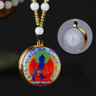 Custom Copper Buddhist Prayer Box Pendant PureTibetan Gau Locket Pendant necklace