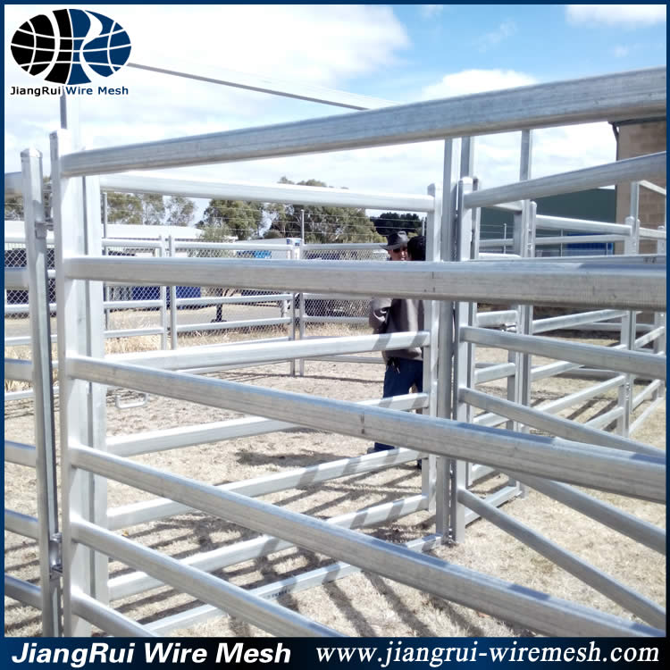 Fancy Galvanized Wire Cattle Panels Festooning - Electrical and ...