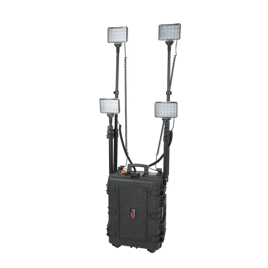 outdoor work lights 288w battery powered portable led work lights 5JG-RLSF288